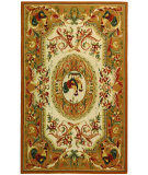 RugStudio presents Rugstudio Sample Sale 49981R Taupe Hand-Hooked Area Rug