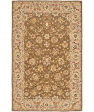 RugStudio presents Safavieh Chelsea HK505B Brown / Ivory Hand-Hooked Area Rug