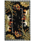 RugStudio presents Safavieh Chelsea HK56B Black Hand-Hooked Area Rug