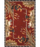 RugStudio presents Rugstudio Sample Sale 46448R Burgundy Hand-Hooked Area Rug