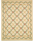 RugStudio presents Rugstudio Sample Sale 46453R Ivory Hand-Hooked Area Rug