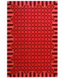RugStudio presents Safavieh Chelsea HK67C Wine Hand-Hooked Area Rug