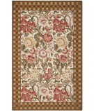 RugStudio presents Safavieh Chelsea HK6B Ivory / Brown Hand-Hooked Area Rug
