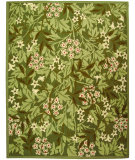 RugStudio presents Safavieh Chelsea HK713A Green / Ivory Hand-Hooked Area Rug