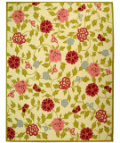 RugStudio presents Safavieh Chelsea HK714A Ivory / Green Hand-Hooked Area Rug