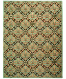 RugStudio presents Safavieh Chelsea HK715A Brown / Blue Hand-Hooked Area Rug