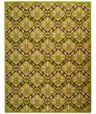 RugStudio presents Safavieh Chelsea HK715B Brown / Green Hand-Hooked Area Rug