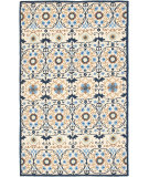 RugStudio presents Safavieh Chelsea Hk727a Ivory / Navy Hand-Hooked Area Rug