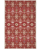 RugStudio presents Safavieh Chelsea HK727B Red / Ivory Hand-Hooked Area Rug