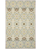 RugStudio presents Safavieh Chelsea HK727C Light Blue / Ivory Hand-Hooked Area Rug