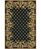RugStudio presents Safavieh Chelsea HK728A Black / Multi Hand-Hooked Area Rug