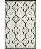 RugStudio presents Safavieh Chelsea HK740A Ivory / Black Area Rug