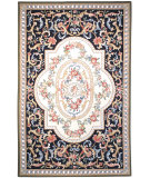 RugStudio presents Safavieh Chelsea HK74A Black Hand-Hooked Area Rug