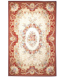 RugStudio presents Safavieh Chelsea HK75A Ivory / Red Hand-Hooked Area Rug