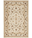 RugStudio presents Rugstudio Sample Sale 46480R Ivory / Ivory Hand-Hooked Area Rug