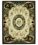 RugStudio presents Rugstudio Sample Sale 50000R Black Hand-Hooked Area Rug