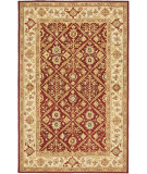 RugStudio presents Safavieh Chelsea Hk816b Ivory / Red Hand-Hooked Area Rug