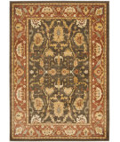 RugStudio presents Safavieh Heirloom HLM1666-2537 Brown / Rust Machine Woven, Good Quality Area Rug