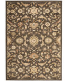 RugStudio presents Safavieh Heirloom HLM1671-2520 Brown / Gold Machine Woven, Good Quality Area Rug