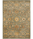 RugStudio presents Safavieh Heirloom HLM1671-6520 Blue / Gold Machine Woven, Good Quality Area Rug