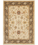 RugStudio presents Safavieh Heirloom HLM1738-1125 Creme / Brown Machine Woven, Good Quality Area Rug
