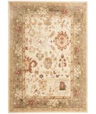 RugStudio presents Safavieh Heirloom HLM1739-1152 Cream / Green Machine Woven, Good Quality Area Rug