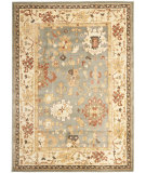 RugStudio presents Safavieh Heirloom HLM1739-6511 Blue / Creme Machine Woven, Good Quality Area Rug