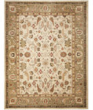 RugStudio presents Safavieh Heirloom HLM1740-1152 Cream / Green Machine Woven, Good Quality Area Rug