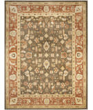 RugStudio presents Safavieh Heirloom HLM1740-2537 Brown / Rust Machine Woven, Good Quality Area Rug