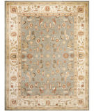 RugStudio presents Safavieh Heirloom HLM1740-6511 Blue / Creme Machine Woven, Good Quality Area Rug