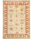 RugStudio presents Safavieh Heirloom HLM1741-1140 Creme / Red Machine Woven, Good Quality Area Rug