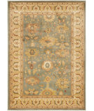 RugStudio presents Safavieh Heirloom HLM1741-6511 Blue / Creme Machine Woven, Good Quality Area Rug