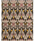 RugStudio presents Safavieh Ikat IKT216A Beige / Brown Hand-Tufted, Good Quality Area Rug