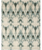 RugStudio presents Safavieh Ikat IKT216B Beige / Slate Hand-Tufted, Good Quality Area Rug