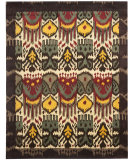 RugStudio presents Safavieh Ikat IKT217A Creme / Brown Hand-Tufted, Good Quality Area Rug