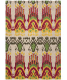 RugStudio presents Safavieh Ikat IKT464A Beige / Yellow Hand-Tufted, Good Quality Area Rug