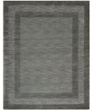 RugStudio presents Safavieh Impressions Im821b Charcoal / Blue Hand-Tufted, Better Quality Area Rug