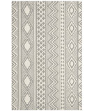 RugStudio presents Safavieh Isaac Mizrahi Imr353b Grey / Ivory Hand-Tufted, Better Quality Area Rug