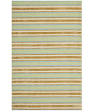 RugStudio presents Safavieh Isaac Mizrahi Imr354a Orange / Green Hand-Tufted, Better Quality Area Rug