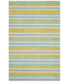 RugStudio presents Safavieh Isaac Mizrahi Imr354b Blue / Green Hand-Tufted, Better Quality Area Rug