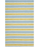 RugStudio presents Safavieh Isaac Mizrahi Imr354c Yellow / Blue Hand-Tufted, Better Quality Area Rug