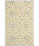 RugStudio presents Safavieh Isaac Mizrahi Imr359a Yellow / Beige Hand-Tufted, Better Quality Area Rug