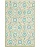 RugStudio presents Safavieh Isaac Mizrahi Imr360a Blue / Creme Hand-Tufted, Better Quality Area Rug