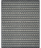 RugStudio presents Safavieh Isaac Mizrahi Imr504a Grey / Black Hand-Tufted, Better Quality Area Rug