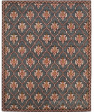 RugStudio presents Safavieh Isaac Mizrahi Imr507a Navy - Rust Hand-Tufted, Best Quality Area Rug