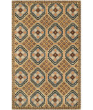 RugStudio presents Safavieh Isaac Mizrahi Imr509a Camel / Multi Hand-Tufted, Better Quality Area Rug