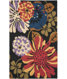 RugStudio presents Safavieh Jardin Jar321a Black / Multi Hand-Tufted, Better Quality Area Rug