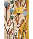 RugStudio presents Safavieh Jardin Jar322a Ivory / Multi Hand-Tufted, Better Quality Area Rug