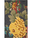 RugStudio presents Safavieh Jardin Jar323a Black / Multi Hand-Tufted, Better Quality Area Rug