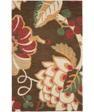 RugStudio presents Safavieh Jardin Jar326a Brown / Multi Hand-Tufted, Better Quality Area Rug